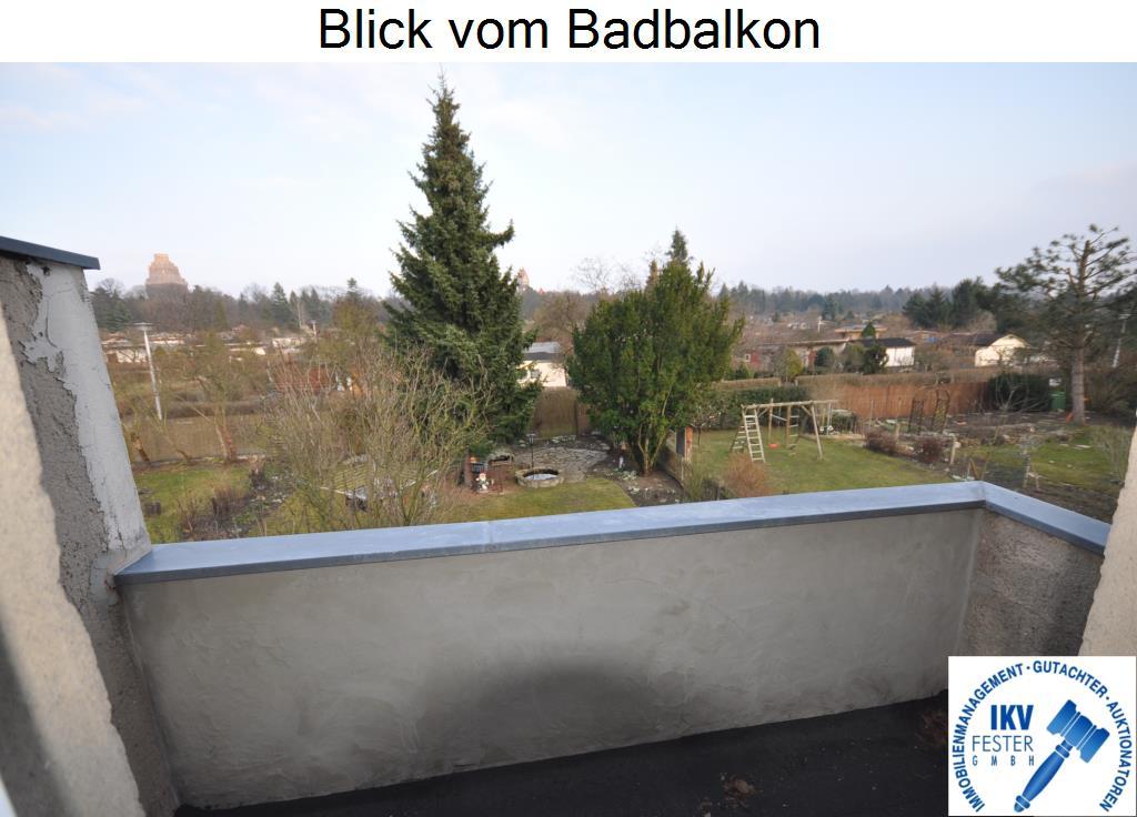 Blick vom Badbalkon