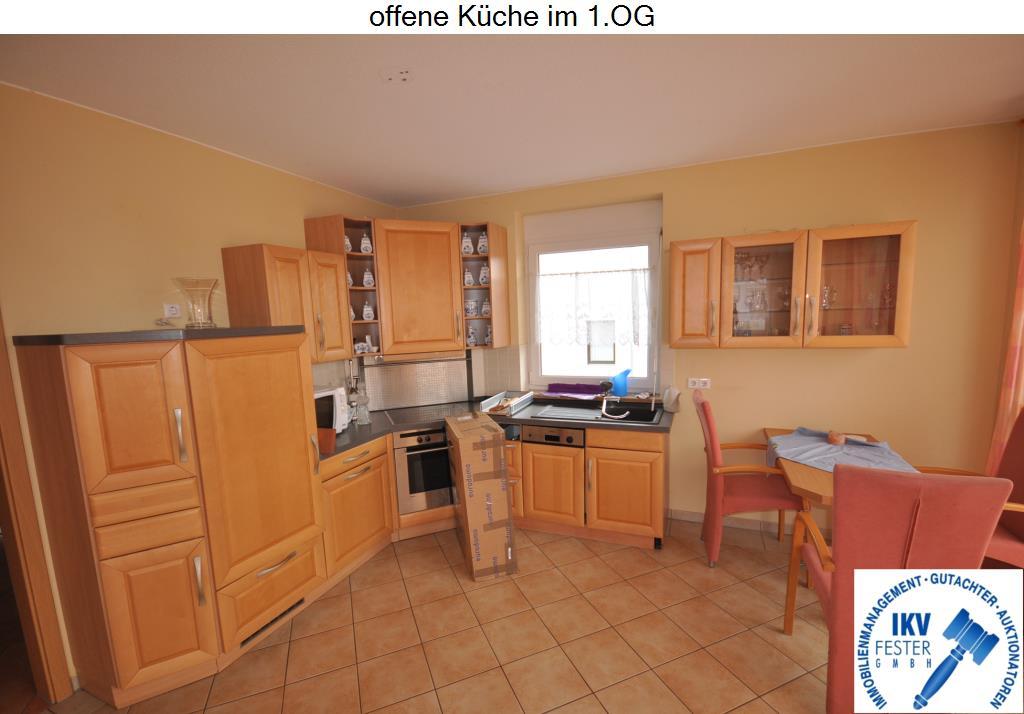 offene Küche im 1.OG