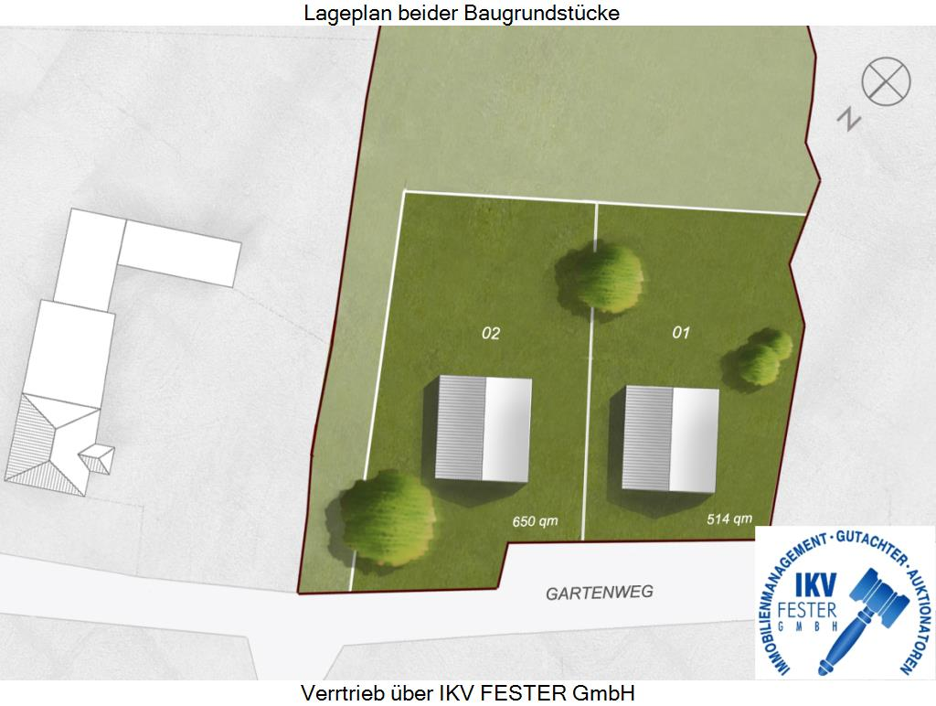 Lageplan-Gartenweg