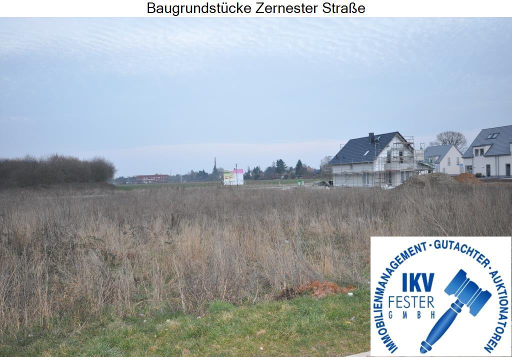 Baugrundstücke Zernester Straße